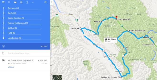 Rockies Route